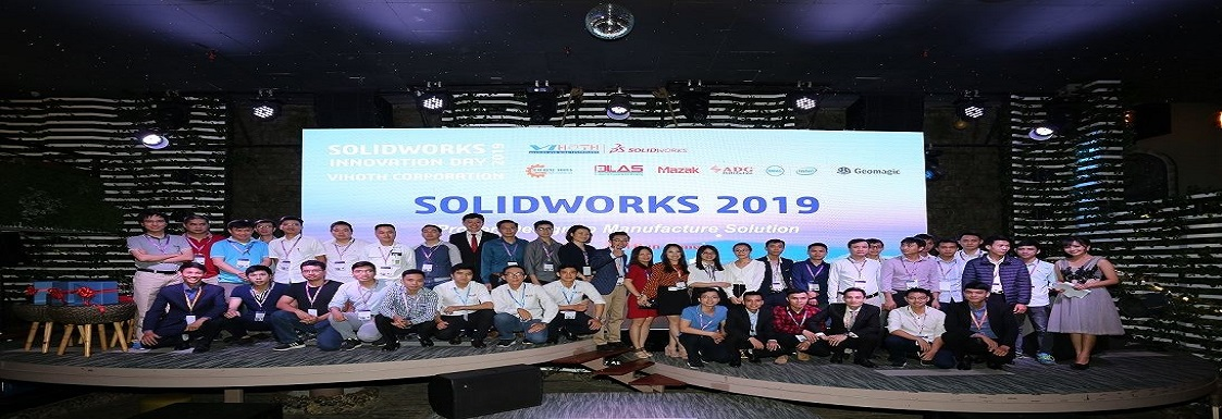 Solidworks Innovation Day 2018 – where the passion for creativity